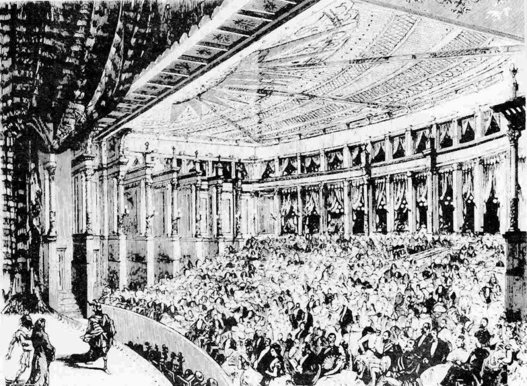 Prima a Bayreuth dell'Oro del Reno, 1876