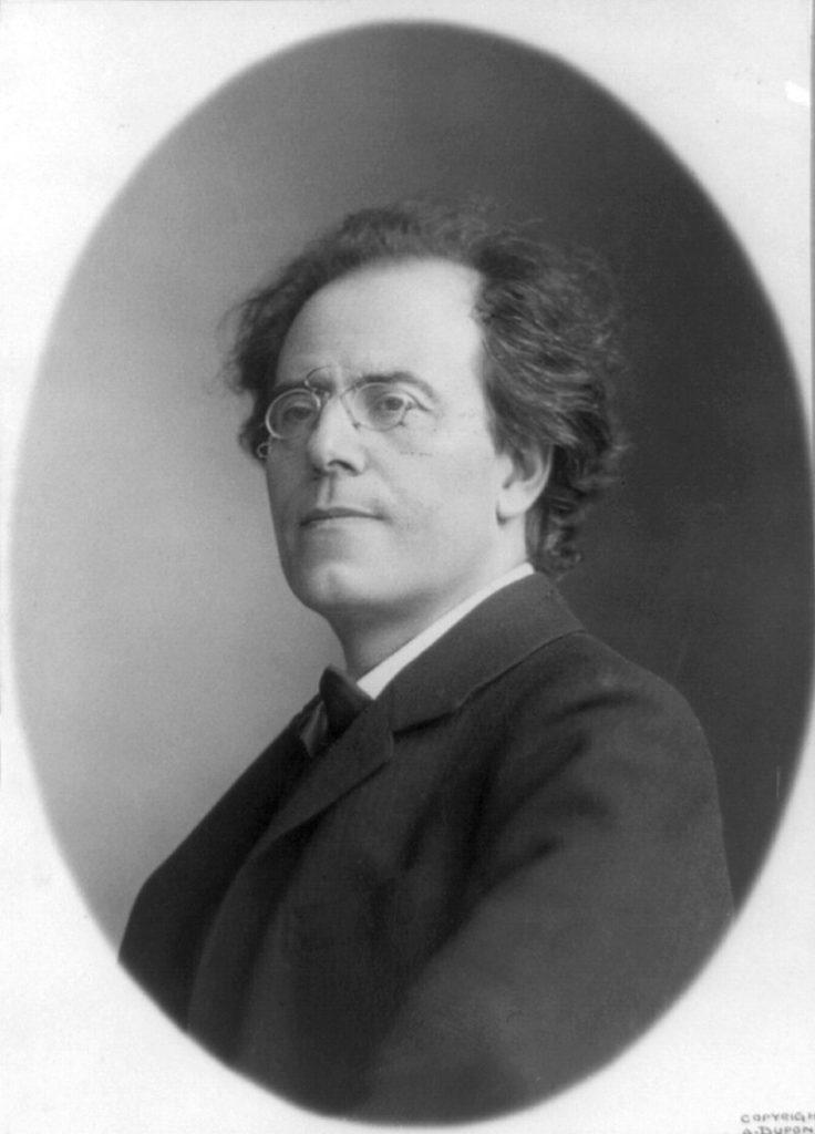 L'antisdemnitismo di Wagner e Gustav Mahler, qui in una foto del 1909