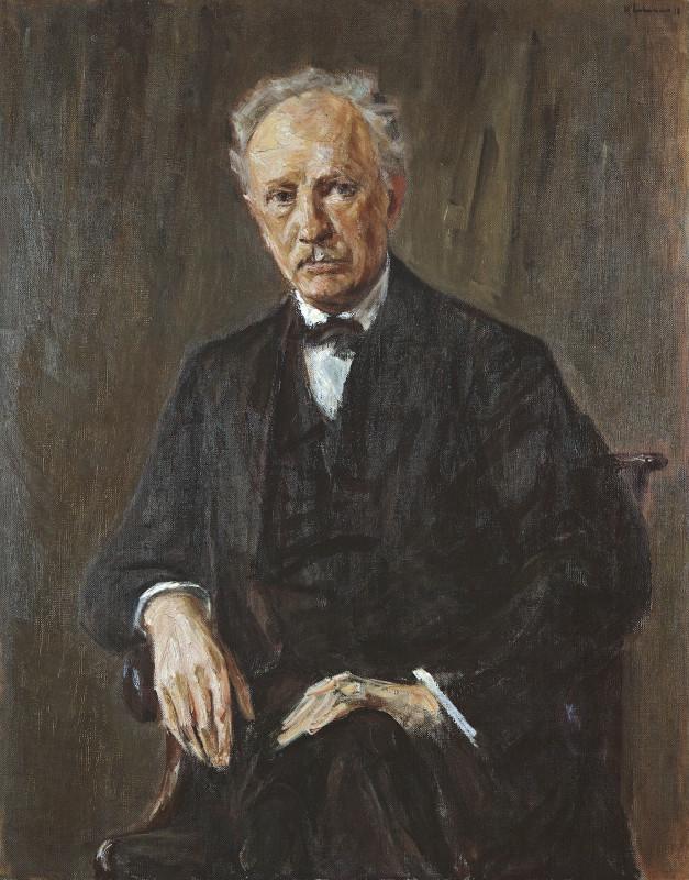 Max Liebermann, Ritratto di Richard Strauss
